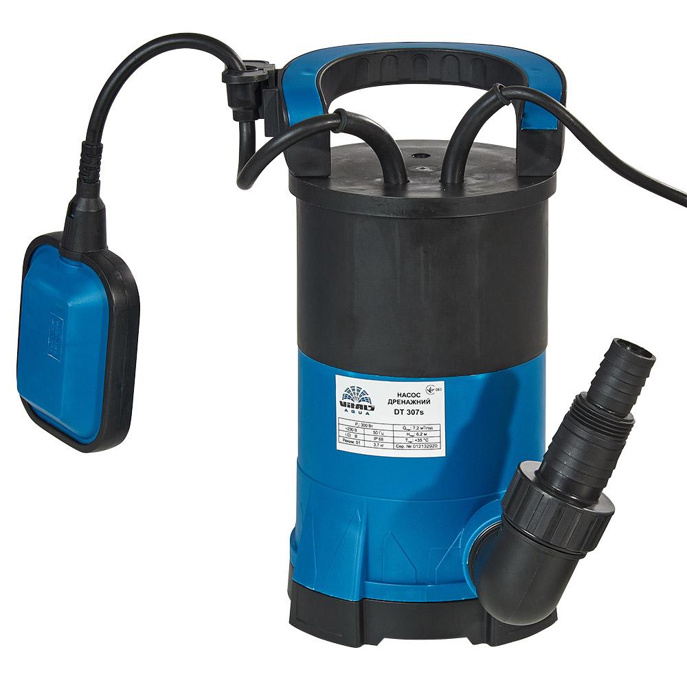 Насос заглибний дренажний для чистої води Vitals aqua DT 307s