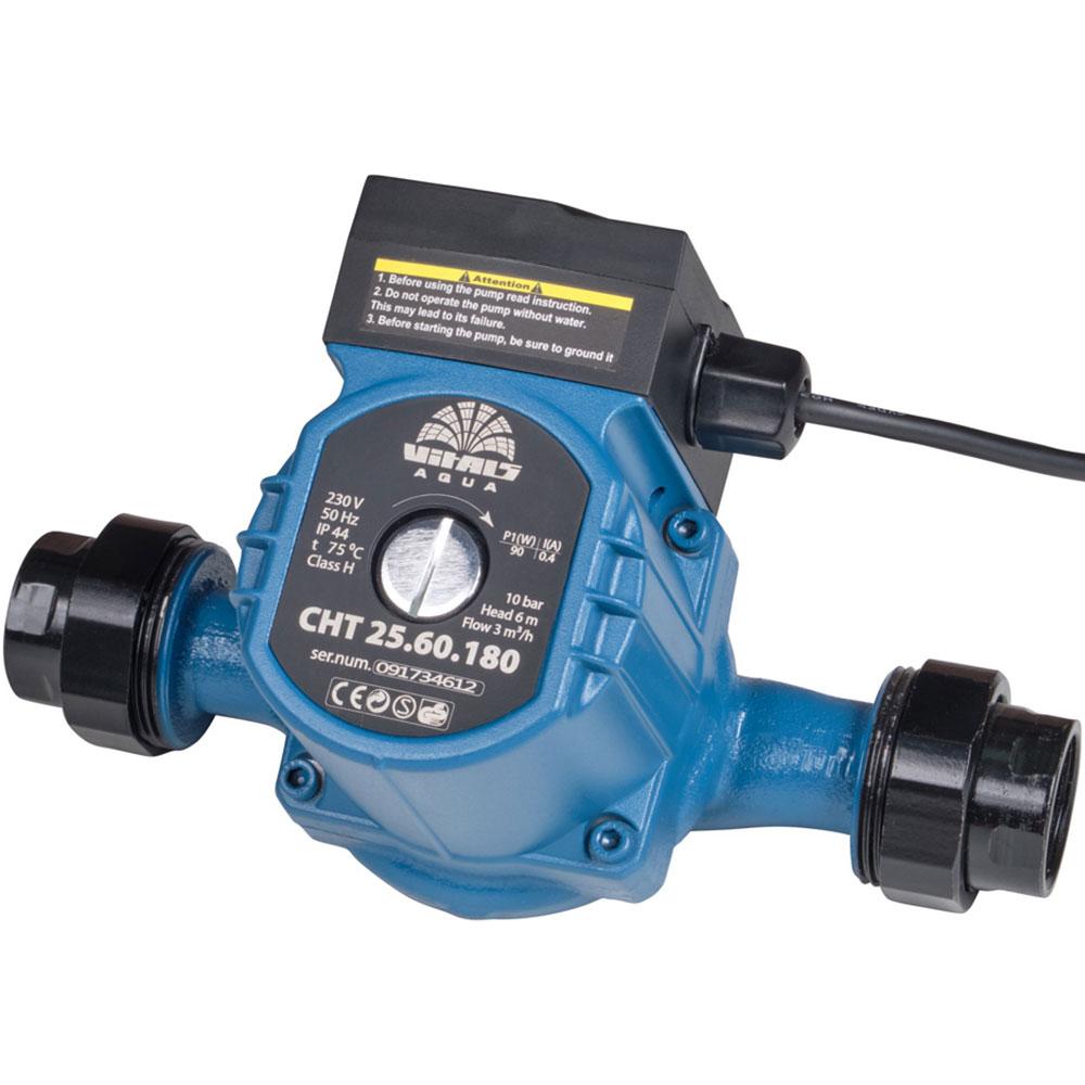Купить Насос циркуляційний з терморегулятором Vitals Aqua CHT 25.60.180