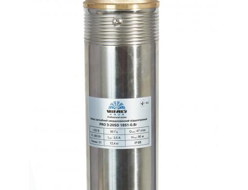 Насос погружной скважинный центробежный устойчивый к песку Vitals Aqua PRO 3-20SD 1851-0.8r